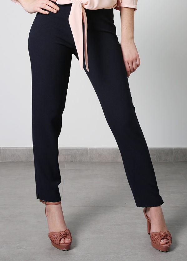 Dark Blue Skinny Pants - O'Livia