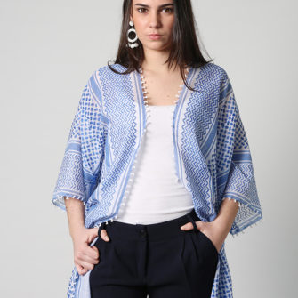 Blue Handkerchief Jacket - O'Livia