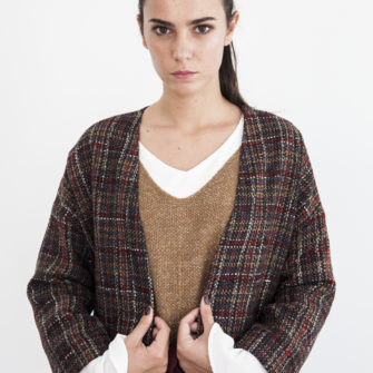 Garnet plaid jacket - Fall/Winter Collection 2019 - o-livia.es
