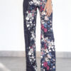 Wide flower pants - Fall / Winter Collection 2019 - o-livia.es