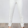 Skinny Pants with Belt White