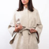 Wool Cape Beige