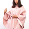 Look Wool Cape Pink