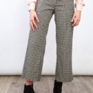 Checked Ankle Pants