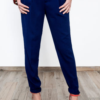 Skinny Chino Pants Navy Blue