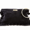 Flounced Purse Black