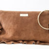 Flounced Purse Brown