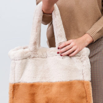 Reversible Fur Bag