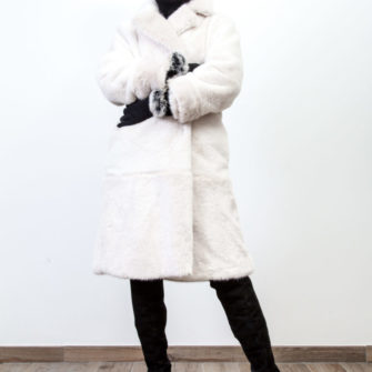 Fur Lapel Coat