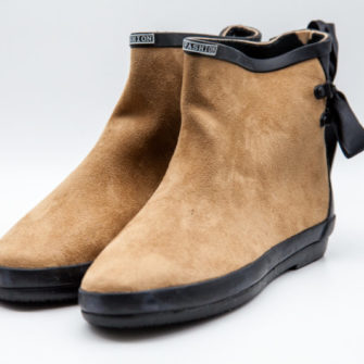 Suede Effect Rain Boots