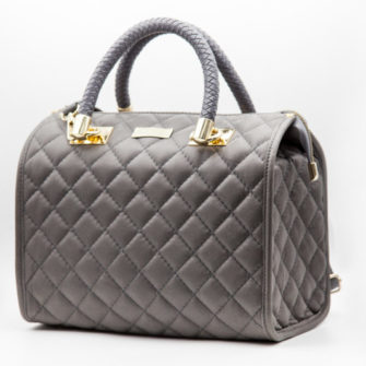 Big Bag Grey Leather