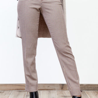Skinny Pants Mini Wales Check