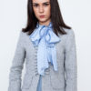 Chanel Type Blazer Blue