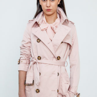 Trench Coat Pink